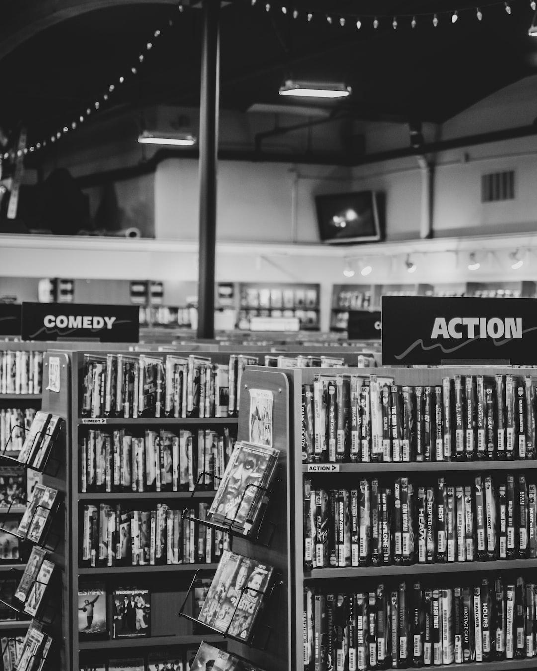 Video Store   Astoria, Oregon