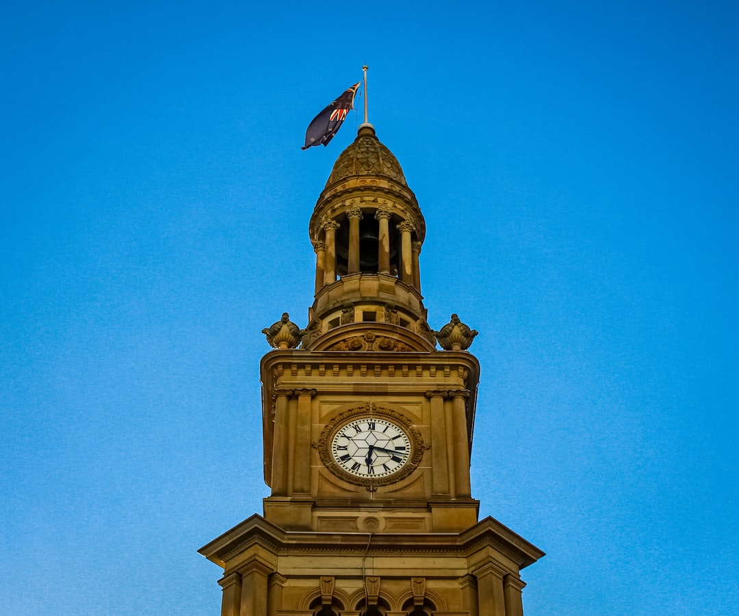 Sydney Town Hall - close up