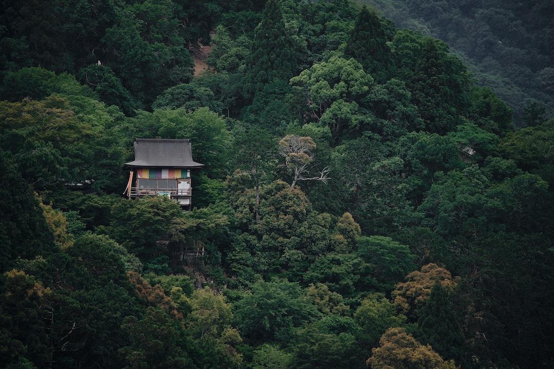 House on a steep mountainside