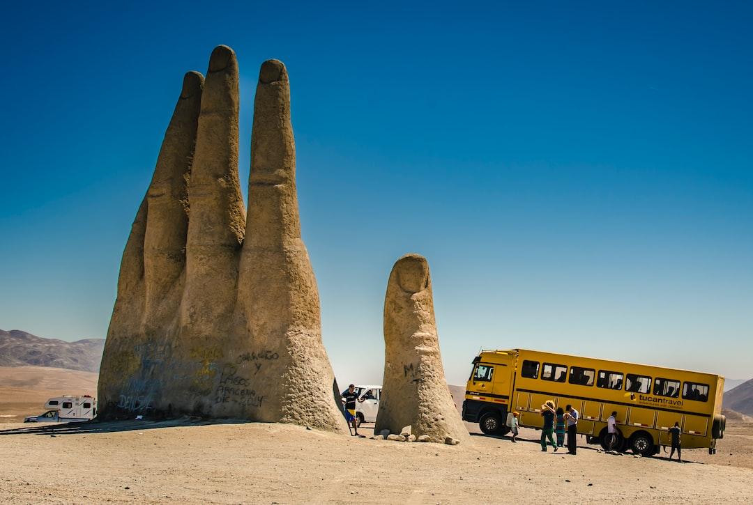 The Hand of the Desert - unsplash