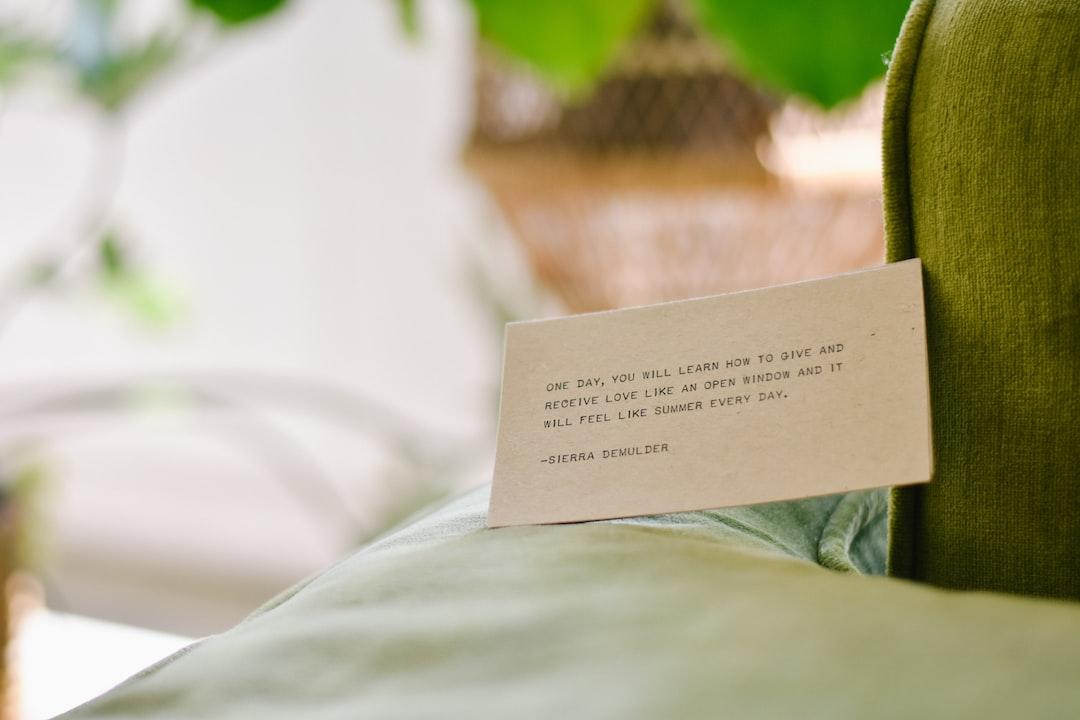 Notecard Mockup - unsplash