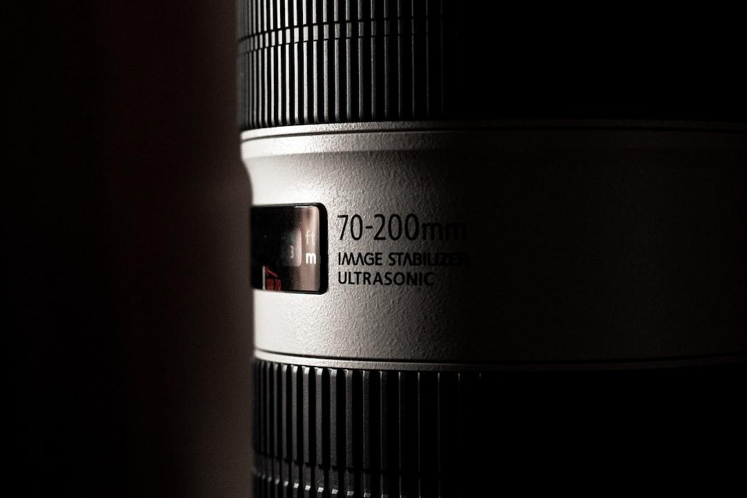 Black and White Camera Lens - unsplash