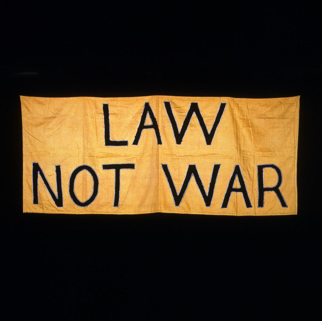 Law Not War. Suffrage Banner, 1908-1914 - unsplash