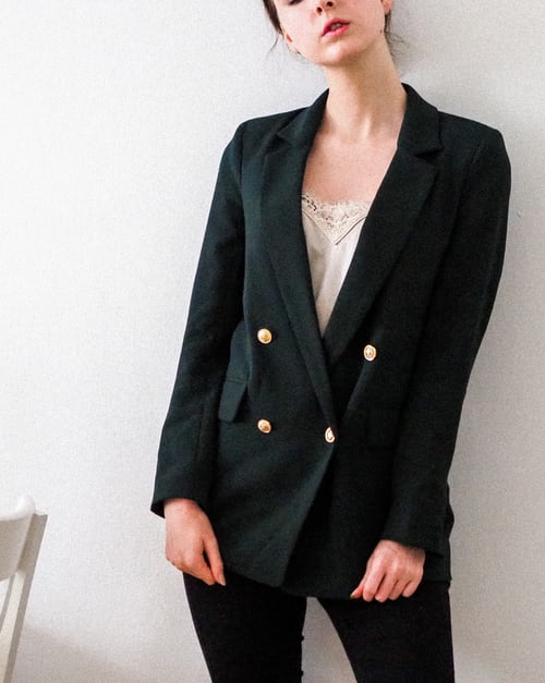The best blazers for pants are usually long.