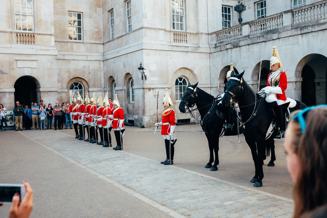 Changing of the Guards In London, England. - unsplash