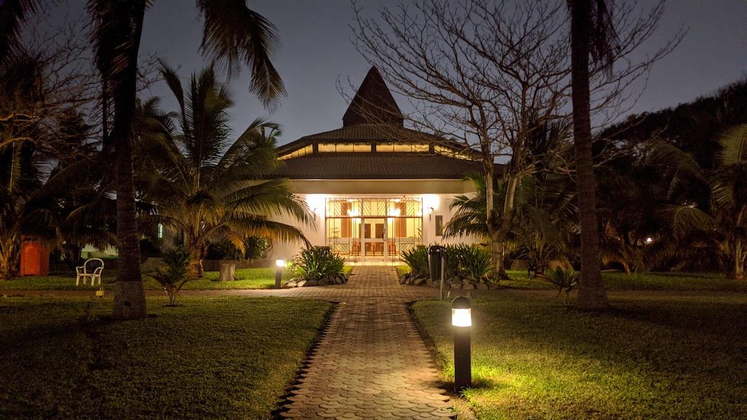 First night in Ghana