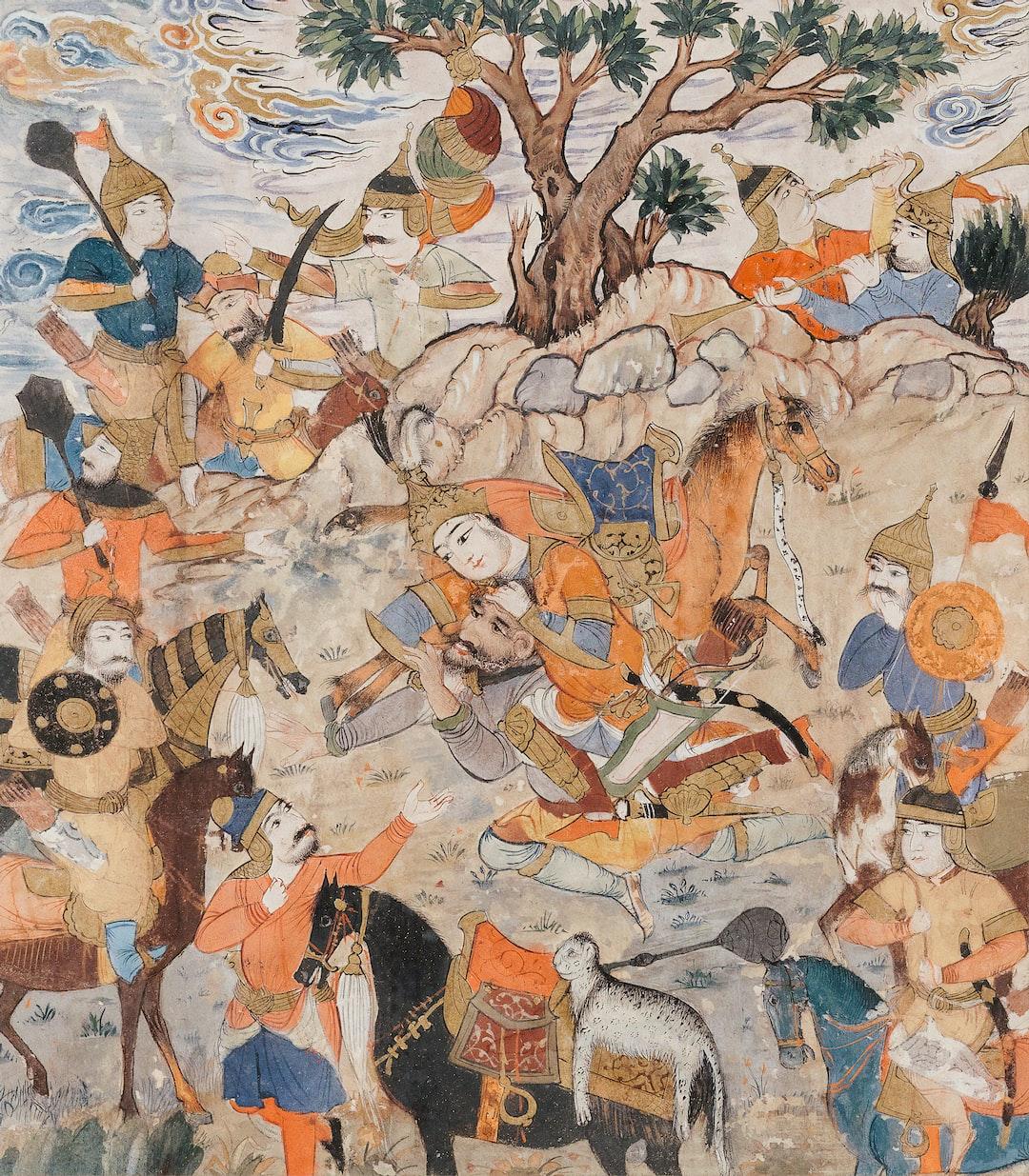 Persian Literary History. Isfandiyar kills Bidarafsh