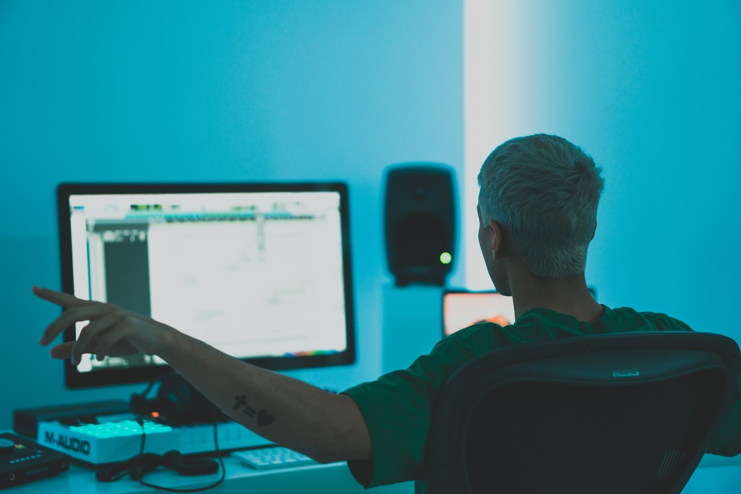 Music Production In Modern White Studio In Sweden. - unsplash