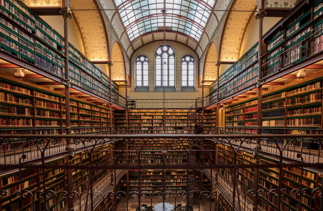 Here Is A Photograph Taken From the Library Inside Rijks Museum. Located In Amsterdam, Netherlands. ( Website : Www.michaeldbeckwith.com ) ( Email : Michael@michaeldbeckwith.com ) - unsplash
