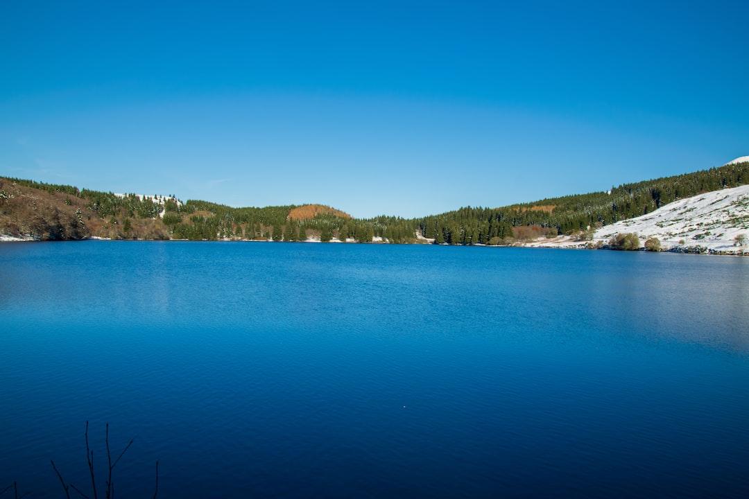 Lac de Guéry en Hiver