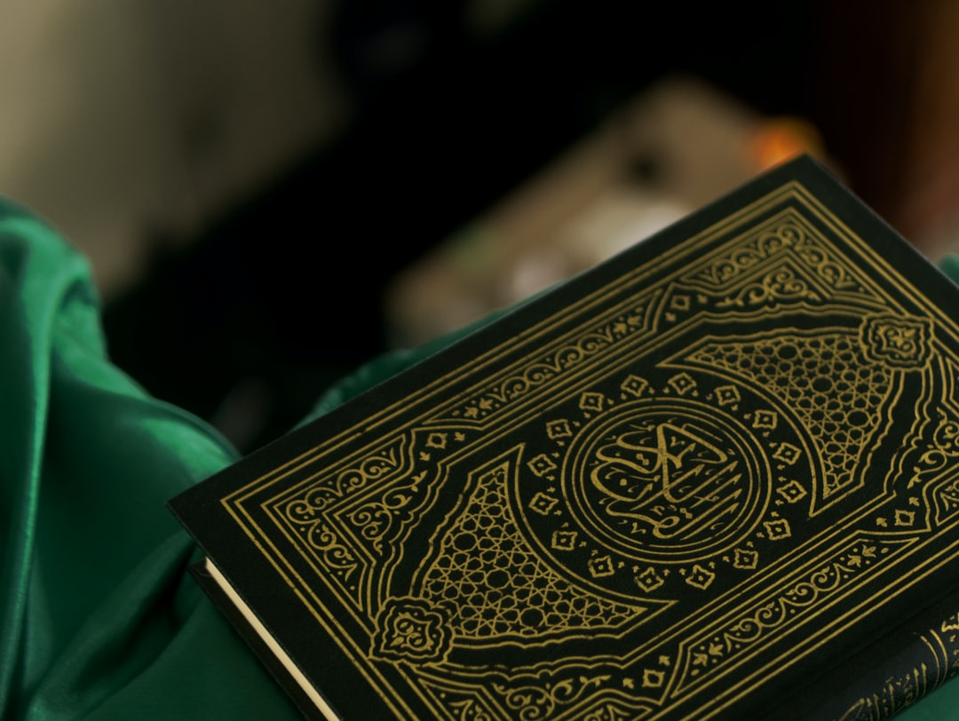 the Quran book laying on the second floor