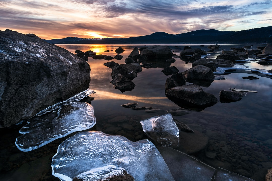 Heaven Freezes Over Severe Drought Exposes Parts of Lake Tahoe Rarely Seen As Water Levels Continue To Decline In This Historically Dry Winter.  - unsplash