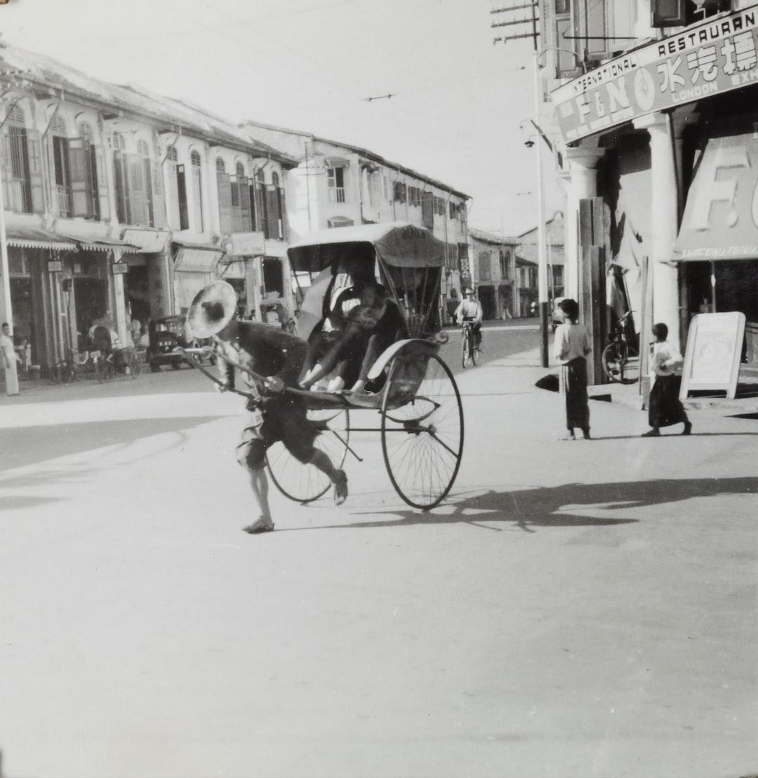 'North Bridge Road', Singapore, 1941-1945