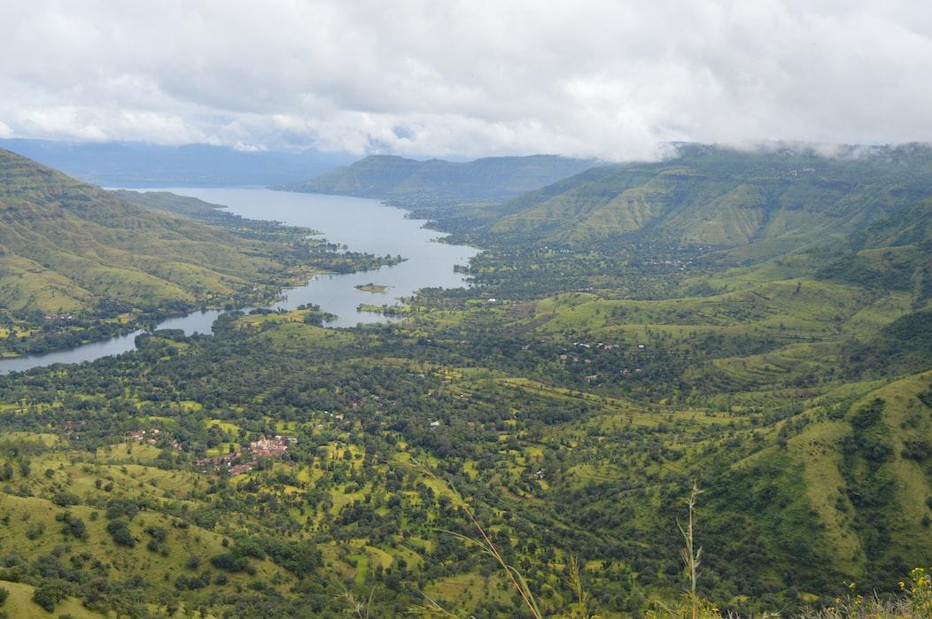 View of lonavala hills