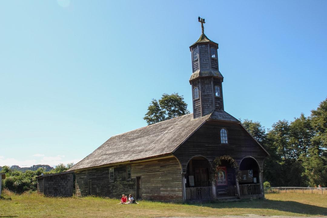 Church. Chiloé. Chile.