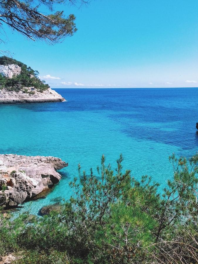 Beautiful beaches of  Cala pregonda