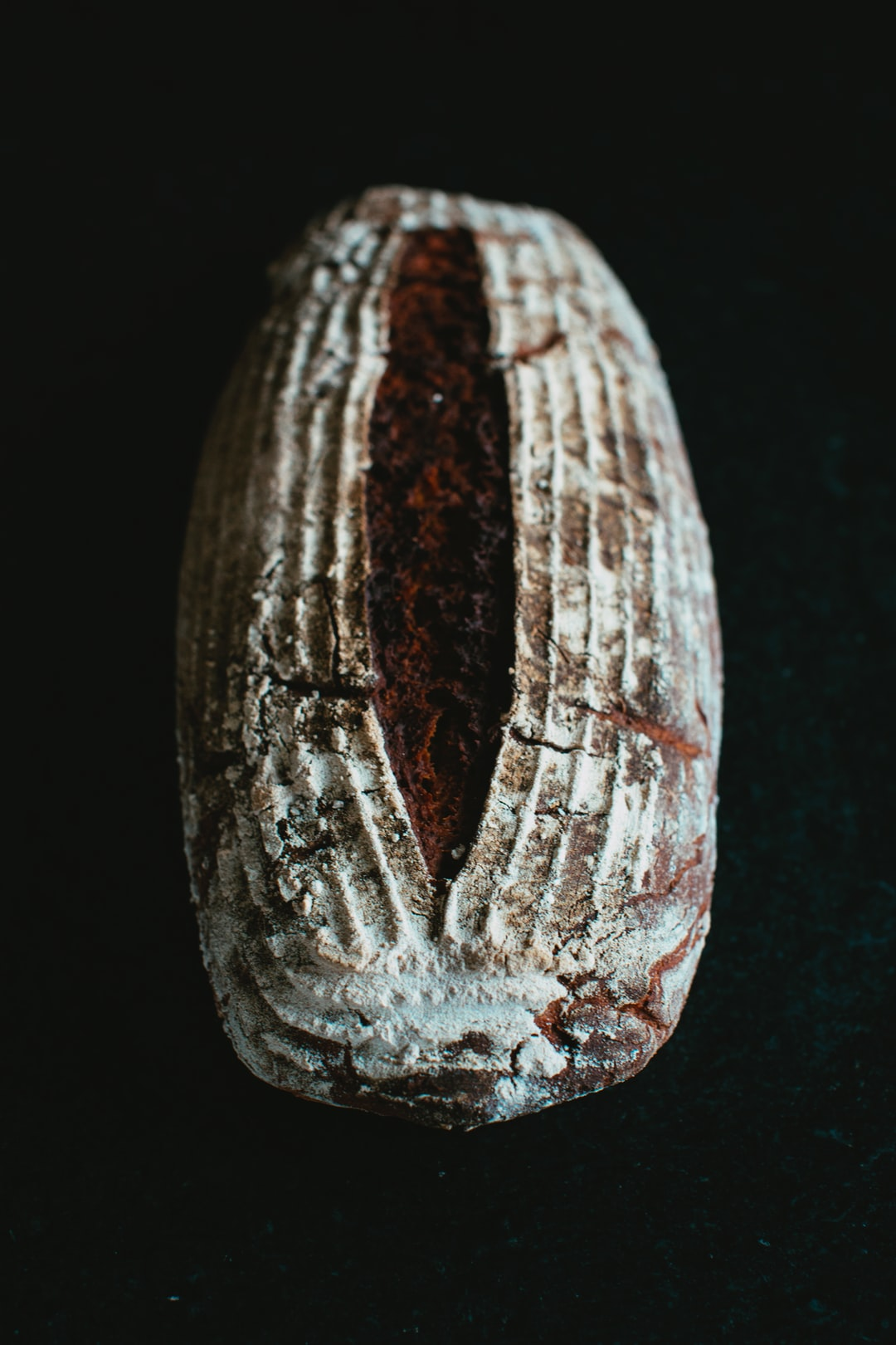 Homemade handcraft wholegrain spelled bread, baked in the old tradition