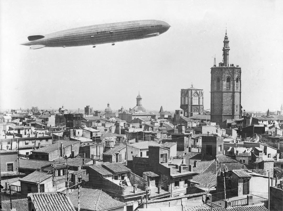 Graff Zeppelin sobrevuela El Miguelete 1929