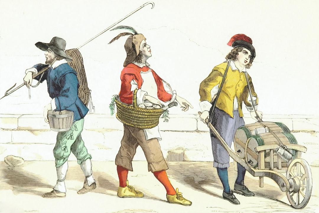 Image taken from page 525 of 'Paris à travers les siècles. Histoire nationale de Paris et des Parisiens depuis la fondation de Lutèce jusqu'à nos jours, etc'
