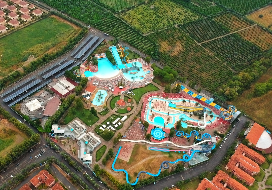 Water park from the sky🚁
