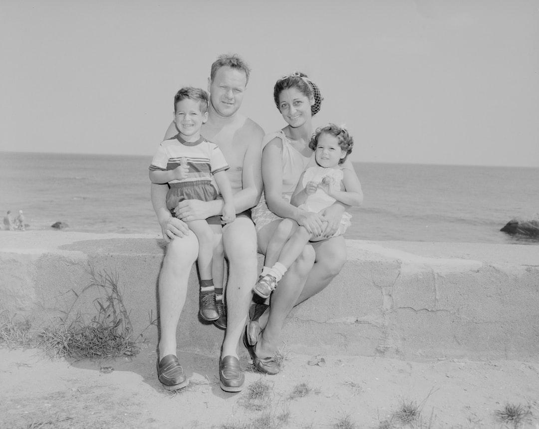 Bob Ristuccia and family, 1953  https://ark.digitalcommonwealth.org/ark:/50959/r494wm21g  Please visit Digital Commonwealth to view more images: https://www.digitalcommonwealth.org.