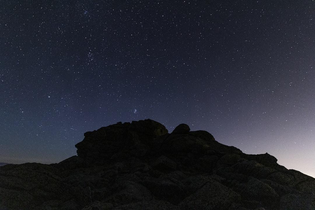 stars, sierra, guadarrama, morcuera, madrid, sky, landscape, navacerrada, mountain, north, space, universe