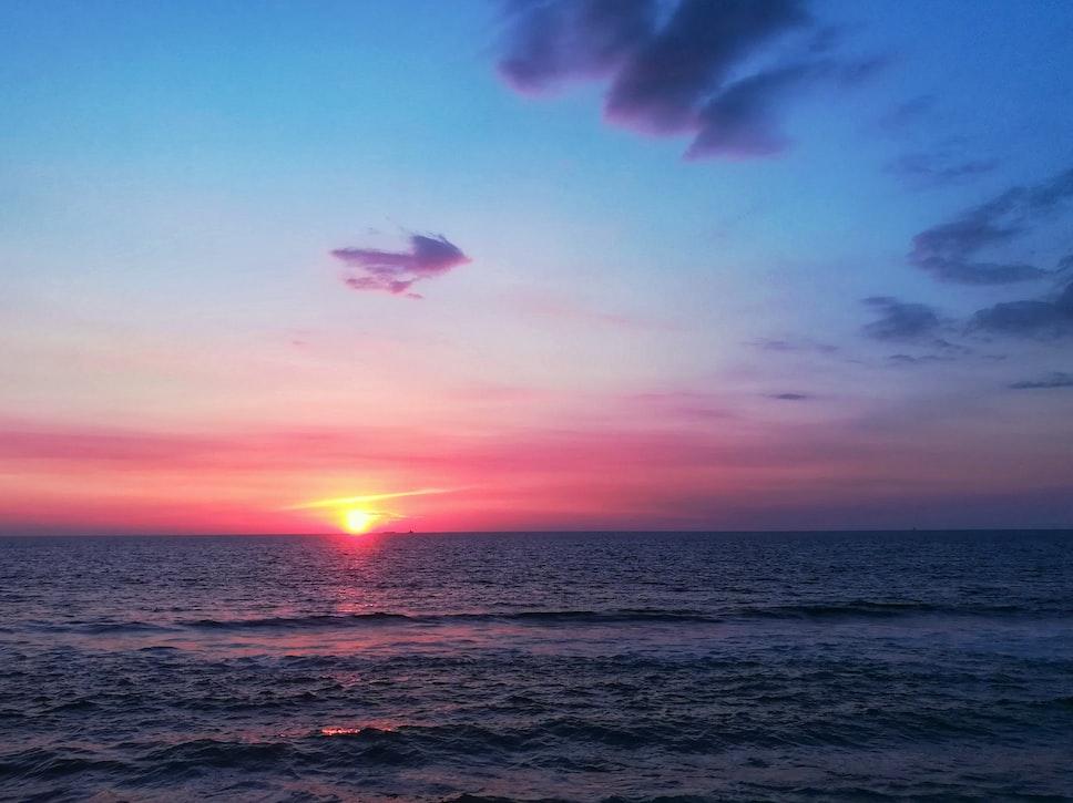 Sunset at Galle Sri Lanka
