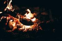 """Making Popcorn over an open fire"""