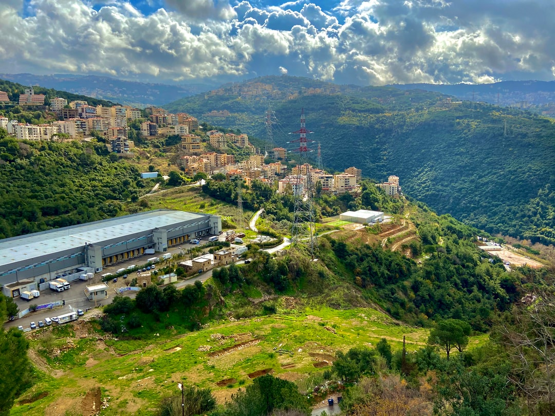 Valley view from Mansourieh Lebanon