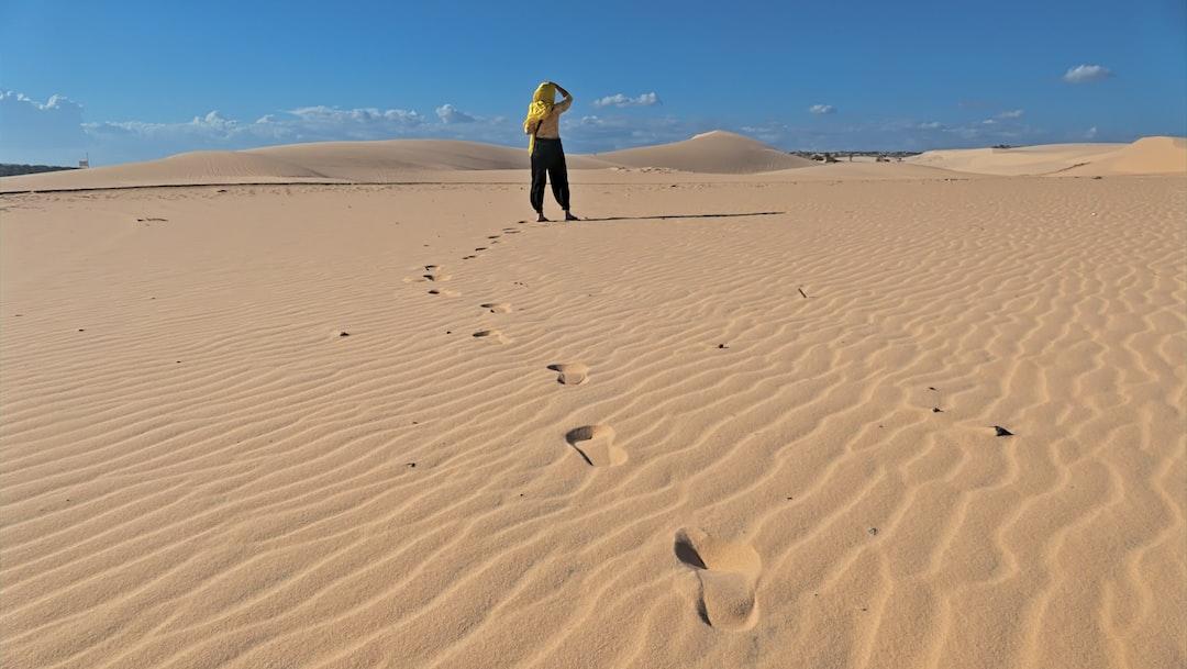 White Sand Dunes - Mui Ne/Vietnam