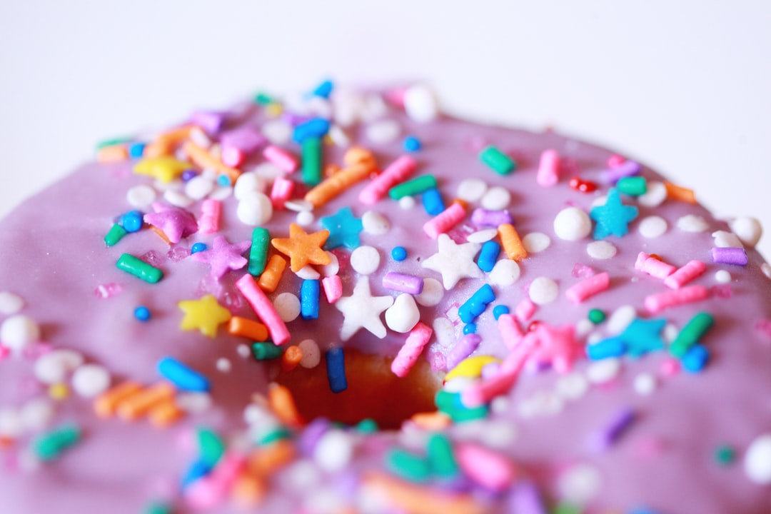 Purple Unicorn Donut. - unsplash