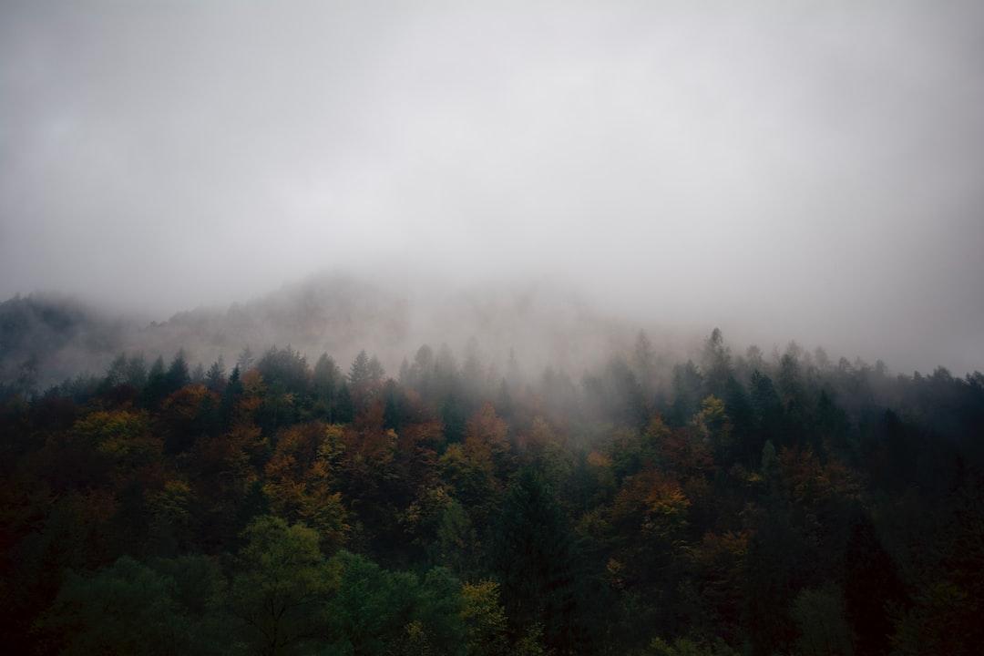 October, hiking in Val di Non
