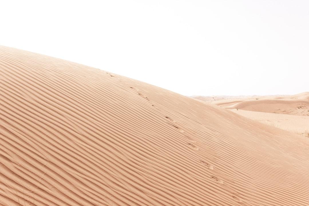 Sand dunes of Hatta II