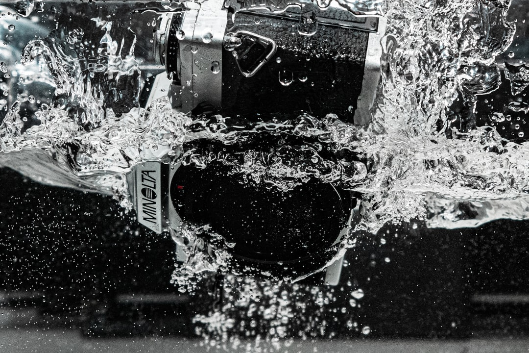 Splash Water Photography, Inspired By Peter McKinnon - unsplash