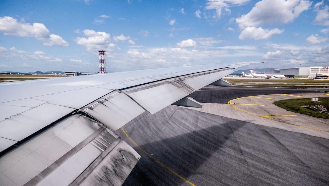Landing in KLIA (Kuala Lumpur International Airport), Malaysia