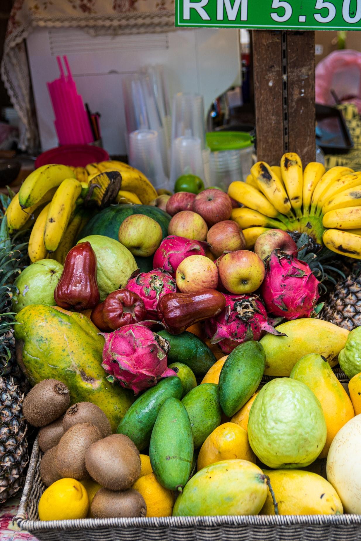 水果普遍含有豐富的纖維質