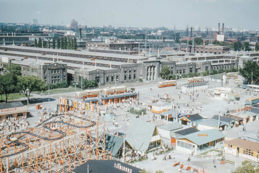 Cne (canadian National Exhibition)  Toronto From Shell Tower October 1959 - unsplash