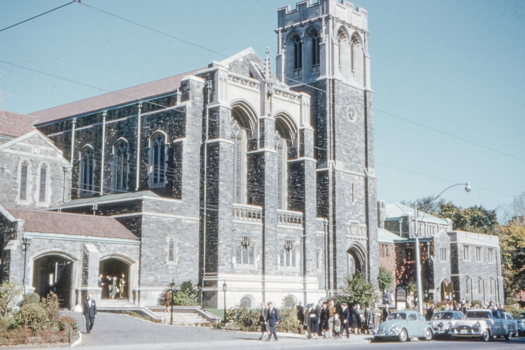 Timothy Eaton Memorial Church Toronto, Sunday October 1960