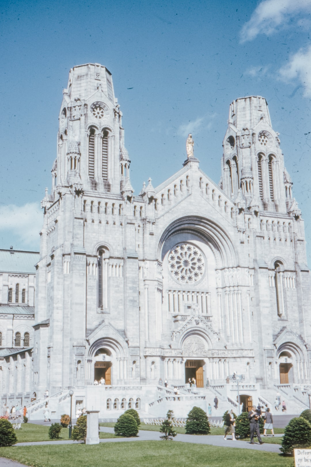Sainte Anne de Beaupre, QC, Canada, July 1959