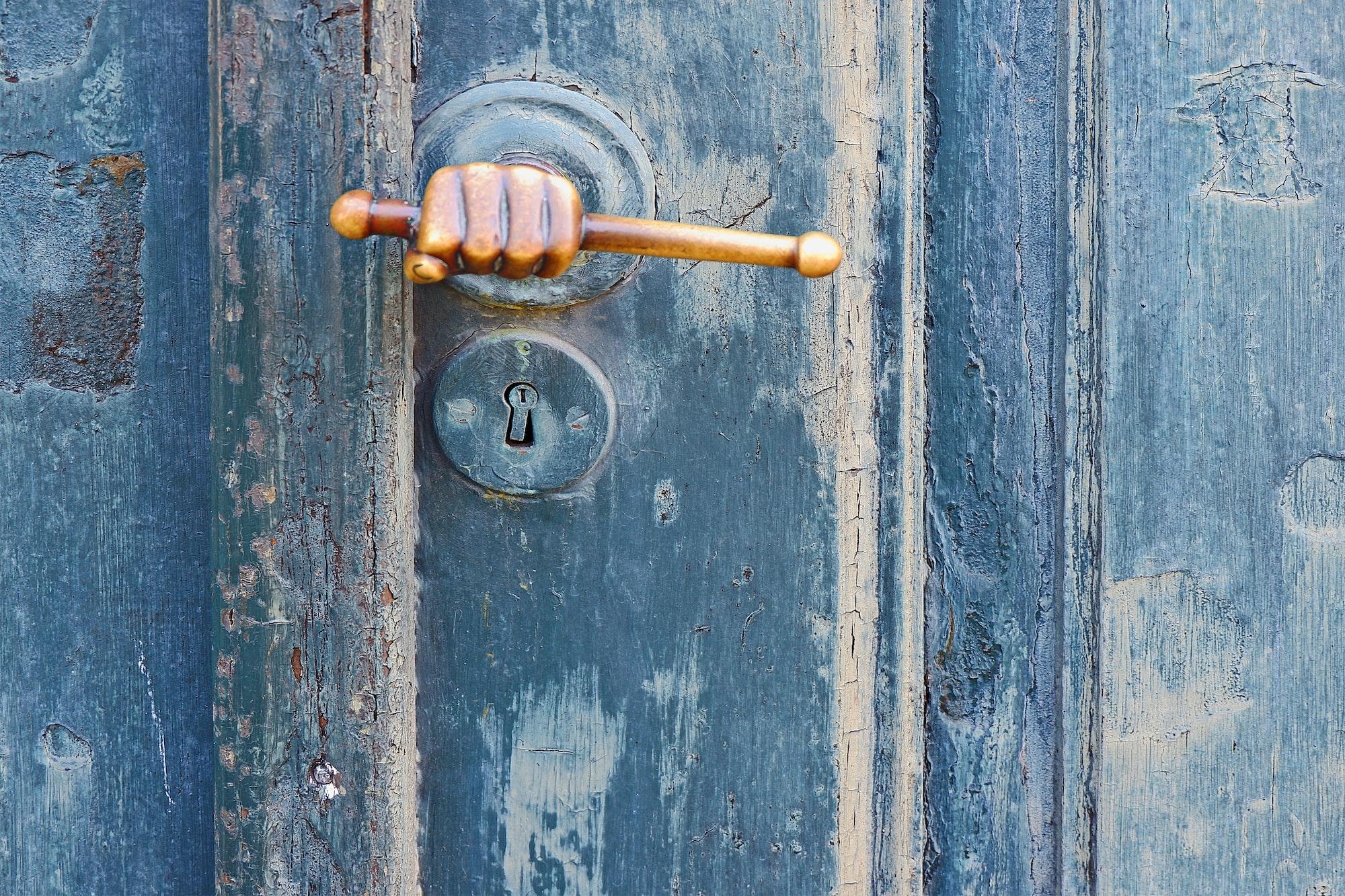 Złamany klucz w zamku?