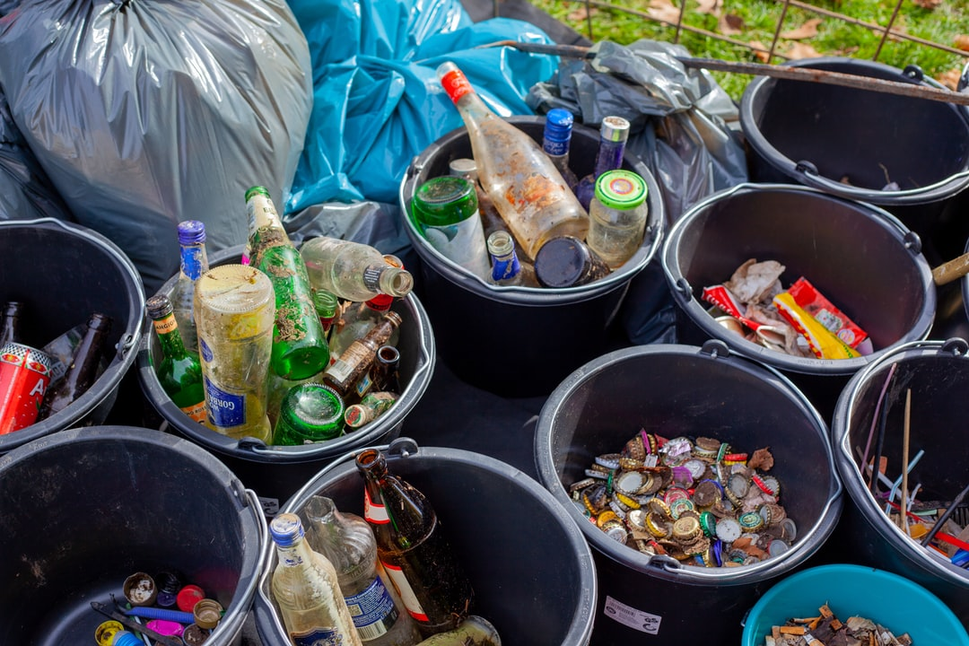 recycling in cleanup action