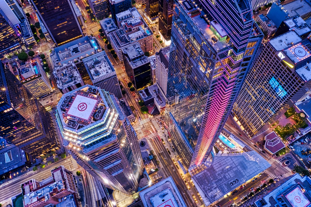 Downtown La Aerial Shot. - unsplash