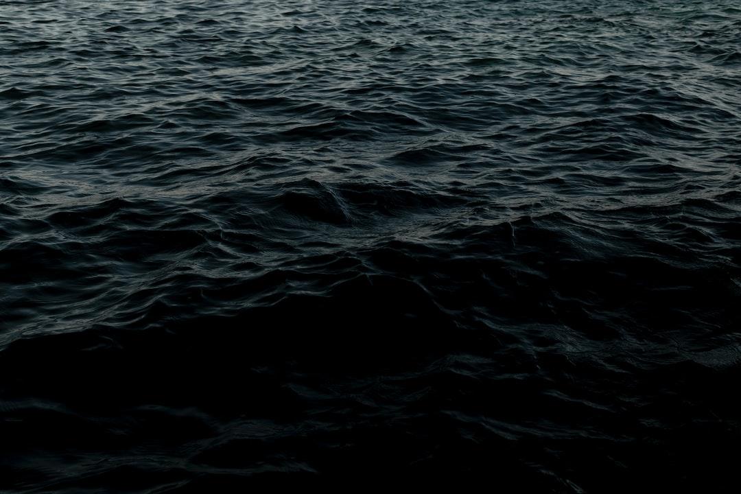 Dark Inspiration  - Sea - unsplash