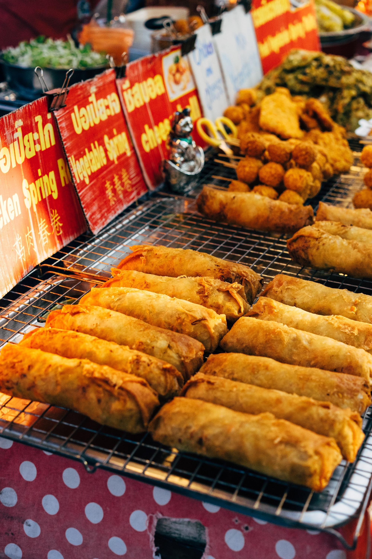 Chinese loempia's met groente