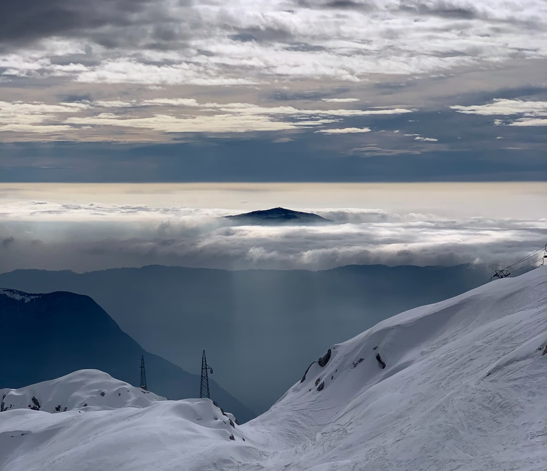 When the clouds cover the mountains they form the majestic ocean above our heads.