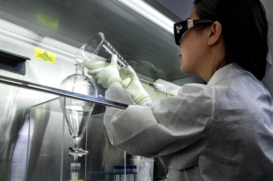 This photograph depicted a Centers for Disease Control and Prevention (CDC) scientist, concentrating poliovirus from sewage, so that the virus could be grown in cultured cells, and then tested using molecular methods. She was performing a polio environmental surveillance technique. There is no routine polio environmental surveillance in the U.S., but surveillance is done in many countries.