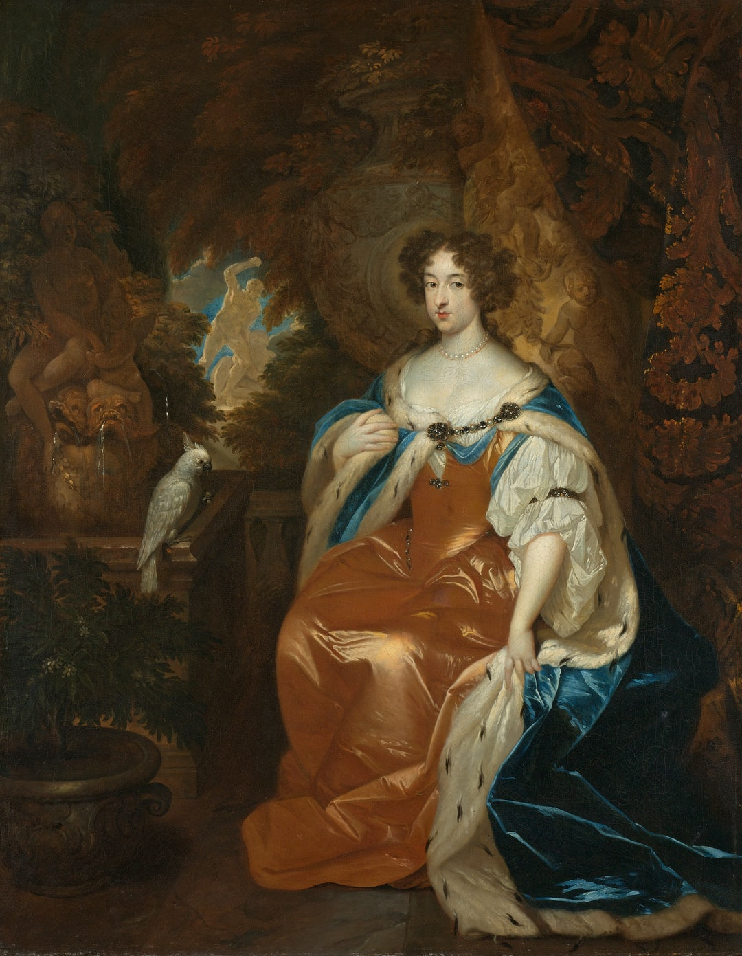Title: Portrait of Mary Stuart (1662-95), Wife of Prince William III. Date: 1683. Institution: Rijksmuseum. Provider: Rijksmuseum. Providing Country: Netherlands. Public Domain