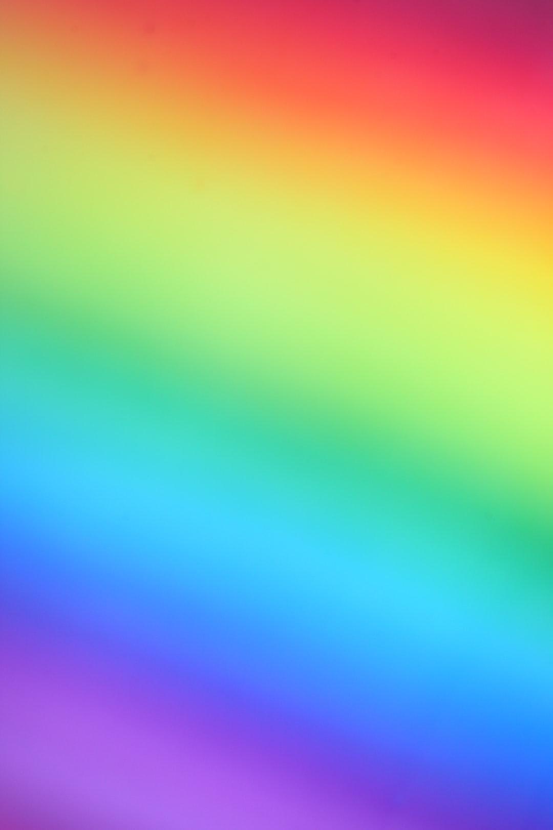 Rainbow mist background.