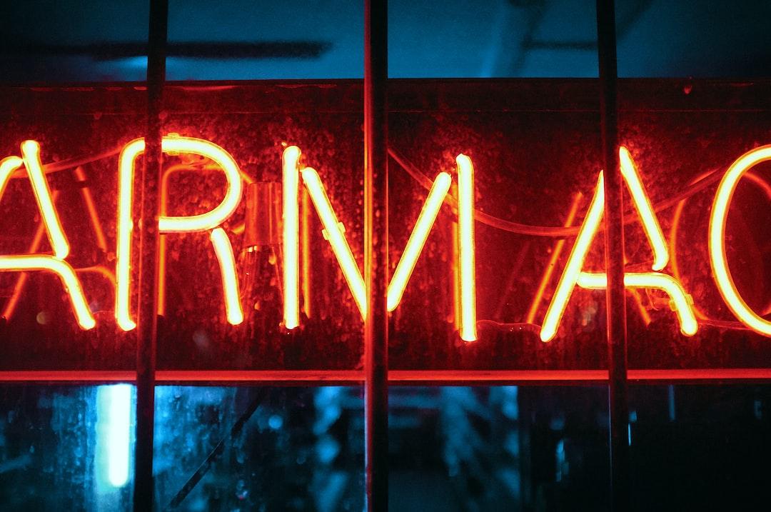Neon Drugs - unsplash