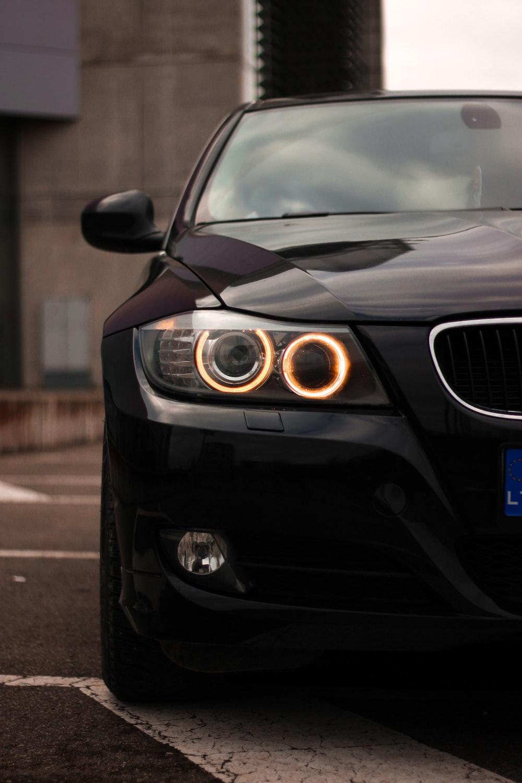 black bmw m 3 coupe